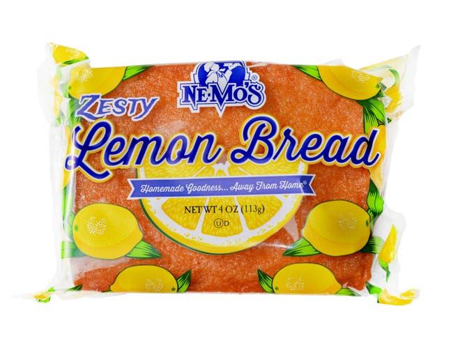 Ne-Mos Zesty Lemon Cake Bread, 4 Ounce -- 12 per case.