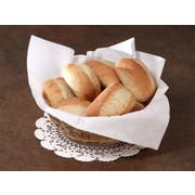 Hoffmaster Flat Pack White Airlaid Basket Liner Napkin, 16 x 16 inch -- 1200 per case.