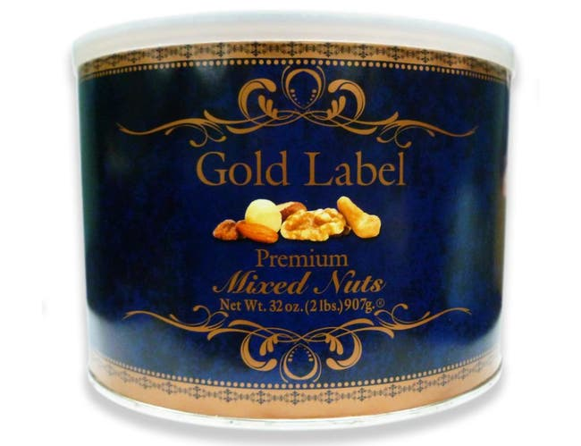Azar Gold Label Premium Mixed Nuts, 2 Pound -- 6 per case
