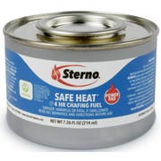 Sterno Safe Heat with Power Pad 4 Hour Wick Chafing Dish Fuel -- 24 per case