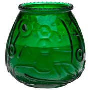 Sterno CandleLamp Euro Venetians Green Glass Candle -- 12 per case