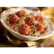 Rosina Food Traditional Italian Meatball, 0.5 Ounce -- 2 per case.