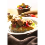 Rosina Food Beef and Chicken Meatball, 5 Pound -- 2 per case.