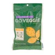 Go Veggie Vegan Cheddar Flavor Shred Cheese, 8 ounce -- 12 per case.