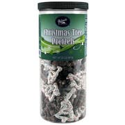 Palmers Chocolate Christmas Tree Pretzels, 20 Ounce Canisters -- 12 per case