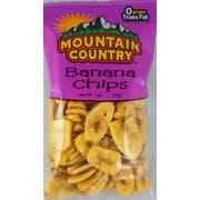 Mountain Country Banana Chips, 6 Ounce -- 6 per case.