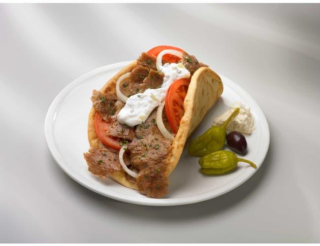 Kronos Frozen Gyrokone Central Brand Beef and Lamb Cone, 10 Pound -- 4 per case.
