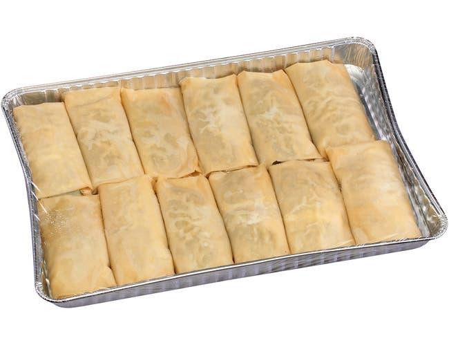 Kronos Frozen Spanakopita - Spinach and Feta Fillo Pie, 6 Ounce -- 36 per case.