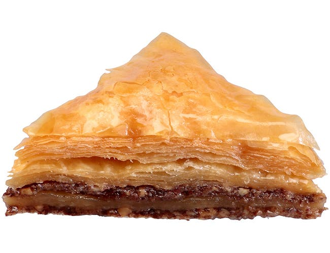 Kronos Frozen Authentic Greek Baklava - Dessert -- 72 per case.