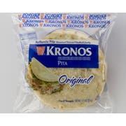 Kronos Frozen Deli Style Flat White Pita Bread, 6 inch -- 60 per case.