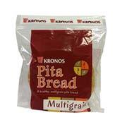 Kronos Frozen Honey Wheat Deli Style Flat Pita Bread, 6 inch -- 60 per case.