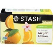 Stash Meyer Lemon Tea - 20 tea bags per pack -- 6 packs per case