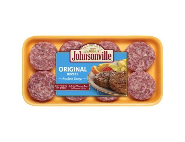 Johnsonville Original Breakfast Sausage Patty, 12 Ounce -- 8 per case.