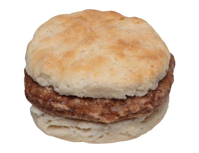 Jimmy Dean Sausage Biscuit, 3.4 Ounce -- 60 per case.