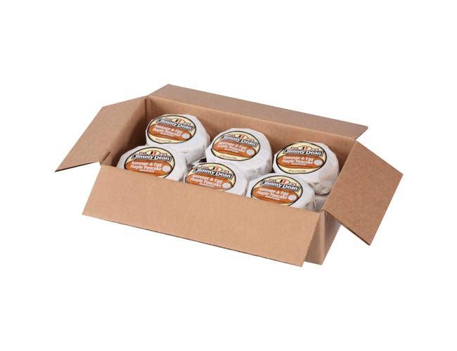 Jimmy Dean Egg Pancake and Sausage Sandwich, 4.9 Ounce -- 12 per case.