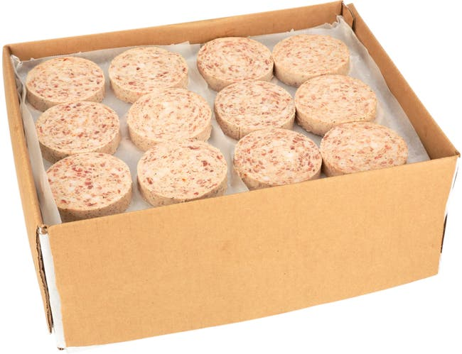 Jimmy Dean Country Style Stuffed/Sliced Sausage Patties, 2 ounce -- 96 per case