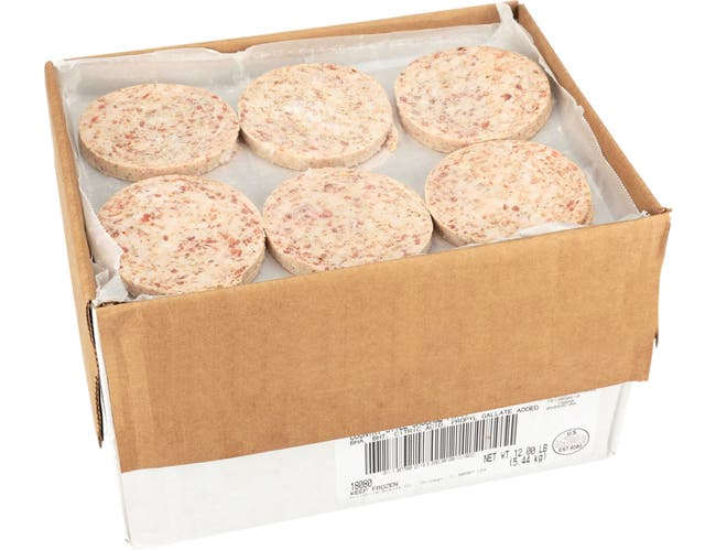 Jimmy Dean Country Style Sausage Patties, 2 ounce -- 96 per case
