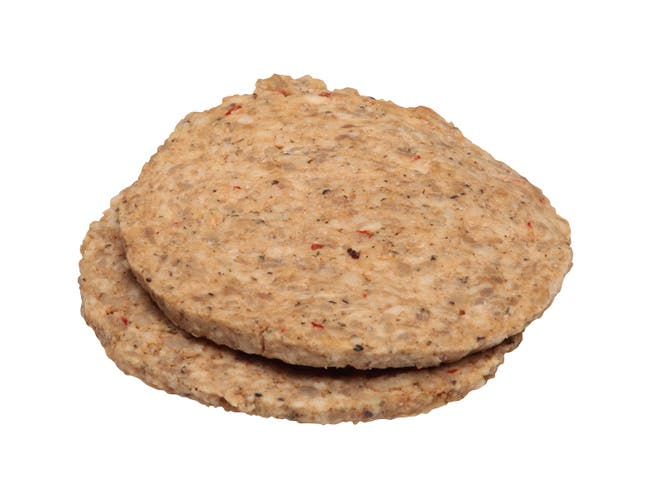 Jimmy Dean Stuffed and Sliced Sausage Patties, 1.5 Ounce -- 108 per case.