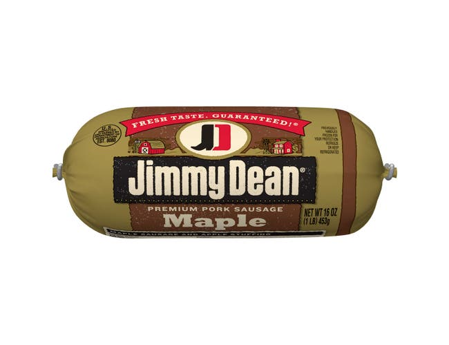 Jimmy Dean Maple Roll Sausage, 16 Ounce -- 12 per case.