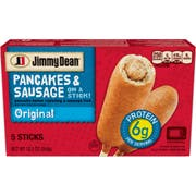 Jimmy Dean Original Pancake and Sausage On Stick, 12.501 Ounce -- 6 per case.