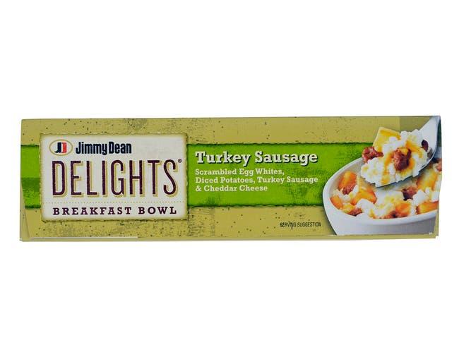 Jimmy Dean Turkey Sausage - Breakfast Bowl, 7 Ounce -- 8 per case.