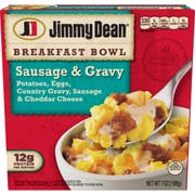 Jimmy Dean Country Gravy Sausage and Cheddar Potatoes and Egg Breakfast Bowl, 7 Ounce -- 8 per case.