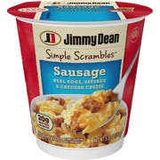 Jimmy Dean Simple Scrambles Sausage, 5.35 Ounce -- 6 per case.