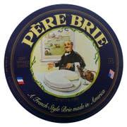 Pere Plain Wheel Brie Cheese, 6.6 Pound -- 1 each.