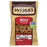 Snyders of Hanover Mini Pretzel, 1.5 Ounce -- 60 per case.
