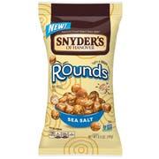 Snyders Of Hanover Rounds Sea Salt Pretzel Ball, 3.5 Ounce -- 8 per case