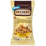Snyders Of Hanover Rounds Butter Pretzel Ball, 3.5 Ounce -- 8 per case