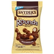 Snyders Of Hanover Rounds Milk Chocolate Pretzel Ball, 3.5 Ounce -- 8 per case