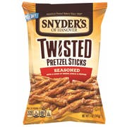 Snyders Of Hanover Twisted Seasoned Pretzel Sticks, 5 Ounce -- 8 per case