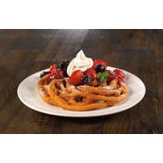 J and J Snack Cake Factory Funnel Cake, 5 Inch -- 48 per case