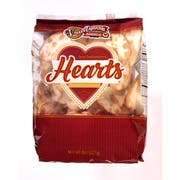 Valley Lahvosh Hearts Original Cracker Bread, 8 Ounce -- 12 per case.
