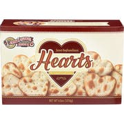 Valley Lahvosh Original Heart Shape Crackerbread, 4.5 Ounce -- 12 per case.