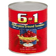Heinz 6 In 1 All Purpose Ground Tomatoes, 105 Ounce -- 6 per case.