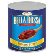 Bella Rosa Extra Heavy Tomato Puree, 107 Ounce -- 6 per case.