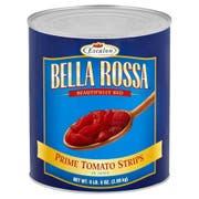 Bella Rosa Tomato Strips in Juice, 102 Ounce -- 6 per case.