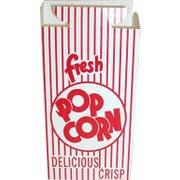 Dixie Red Automatic Bottom Popcorn Box, 2.000 x 4.000 x 7.000 inch -- 500 per case.