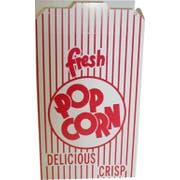 Dixie Red Automatic Bottom Popcorn Box, 2.125 x 5.625 x 8.500 inch -- 500 per case.