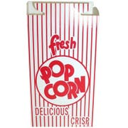 Dixie Automatic Bottom Popcorn Boxes with Hook and Eye Reclose Top, 2.000 x 4.687 x 7.500 inch -- 500 per case.