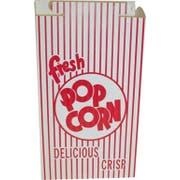Dixie Red Automatic Bottom Popcorn Box, 2.563 x 6.5 x 9.675 inch -- 250 per case.