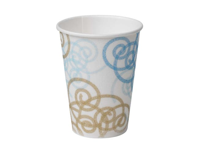 PerfecTouch Whimsy Insulated Paper Hot Cup, 12 Ounce -- 1000 per case.