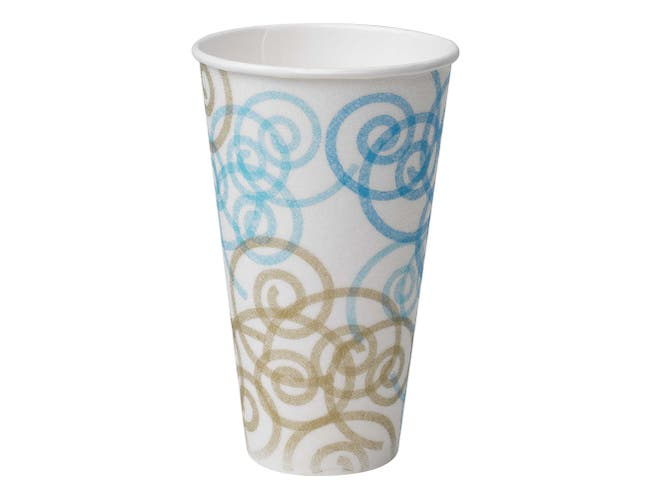 PerfecTouch Whimsy Insulated Paper Hot Cup, 20 Ounce -- 500 per case.