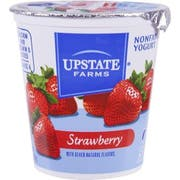 Upstate Niagara Coop Strawberry Rich and Creamy Yogurt, 8 Ounce -- 12 per case.
