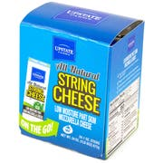 Upstate Farms Low Moisture Part Skim String Cheese, 1 Ounce -- 48 per case.