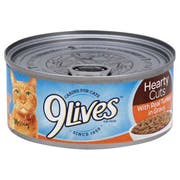 9 Lives Hearty Cuts with Real Turkey In Gravy Cat Food, 5.5 Ounce -- 24 per case.