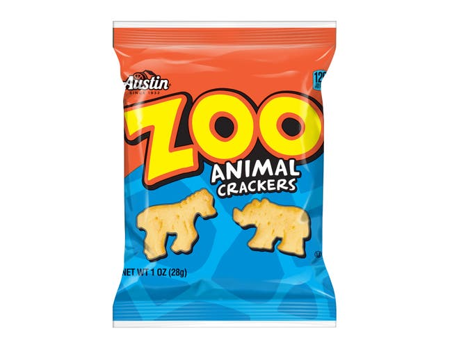 Cracker Keebler Austin Zoo Animal 100 Count 1 Ounce