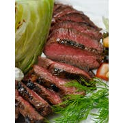 Thick N Juicy Seasoned Top Sirloin Coulotte Beef Steak, 32 Pieces of 6 Ounce, 12 Pound -- 1 each.